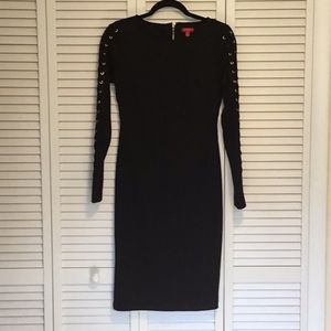 Black Long Sleeved Dress J Lo